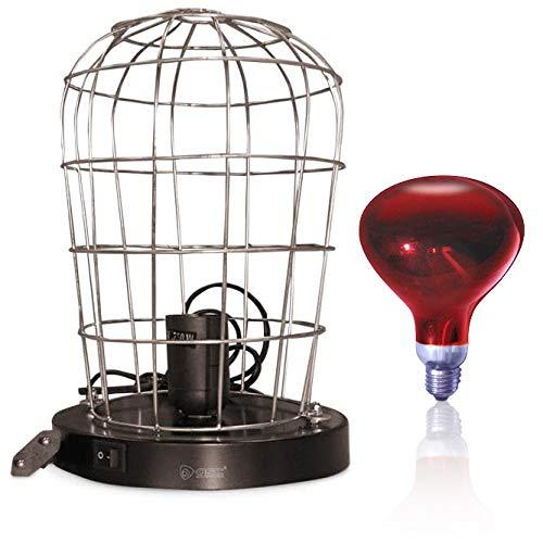 Bricolemar Estufa Infrarrojos 250W + Lámpara Infrarroja