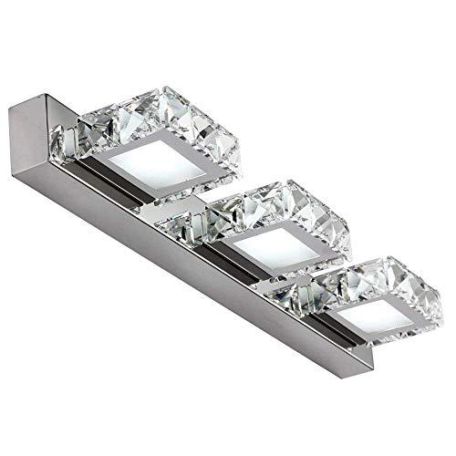 LED Spiegelleuchte,Dailyart 9w LED Lichter Badezimmer LED Kosmetikspiegel,EMC-Antrieb,Kühles weißes,46 X 4 X 11cm [Energieklasse A+]