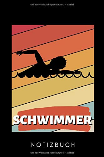 SCHWIMMER NOTIZBUCH: A5 KALENDER 2020 Schwimmen Geschenke | Trainingsplan | Schwimmtraining | Triathlon | Training | Schwimmer Geschenkidee | Schwimm Buch | Sportler
