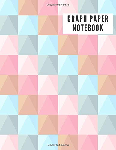 GRAPH PAPER NOTEBOOK: 4x4 Abstract Graph Composition Notebook