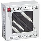 Amy Aluminium Mundstück S238 Set in Box Silber