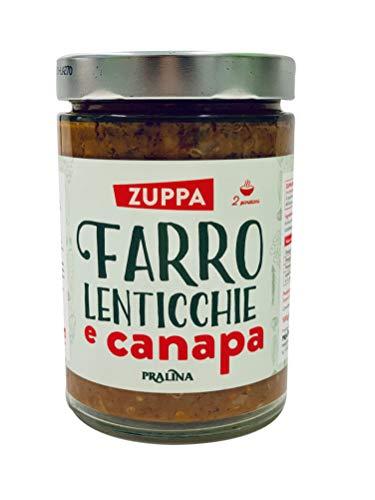 Pralina Zuppa di Farro Lenticchie e Canapa - 530 g