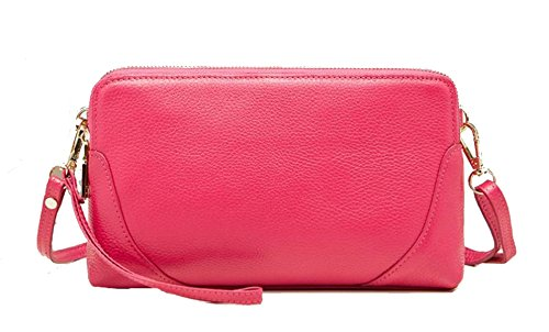 Clutch In Pelle Ms. RoseRed