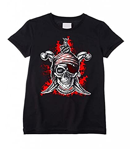 Jolly Roger Children's / Kids T-Shirt (Ages 3 to 12) (Age 9 to 10)