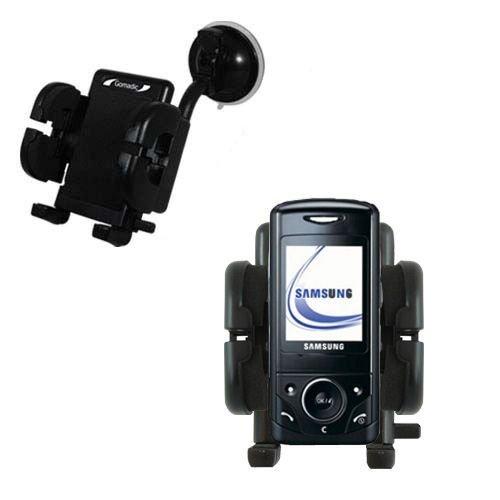 Samsung SGH-D520 Windschutzscheibenhalterung für KFZ / Auto - Cradle-Halter mit flexibler Saughalterung für Fahrzeuge