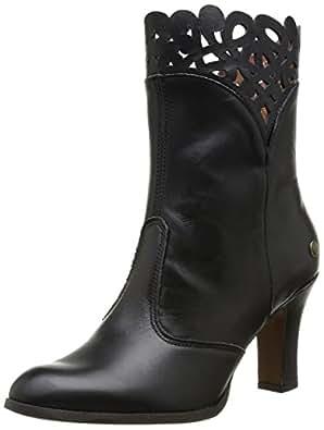 Neosens Lacrima 692, Boots femme - Noir (Ebony), 38 EU