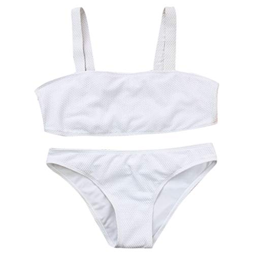 Bfmyxgs Stilvolle Frauen Mädchen Sexy Zweiteiler Badeanzug Charming Bikini Stilvolle Pushups Gefüllt BH Bademode Beachwear Schöne Tankini Sets Monokini Badesätze