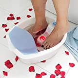 Heated Vibrating Wet Foot Bath Spa Massager Therapy Acupuncture Effect