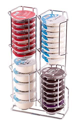 Dispensador de cápsulas tassimo, 32 cápsulas |Garantía Babavoom | Se puede montar en la pared