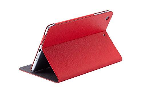 Ozaki O!Coat Multi-Angle Schutzhülle für Apple iPad mini 2 (Retina) & iPad mini 3 [Standfunktion, wake/sleep Funktion, Schlankes Design] - OC114RD