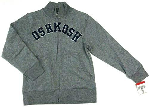 OshKosh B'Gosh Jacke 122/128 grau Übergangsjacke Sweatjacke USA Size 8 Junge Oshkosh Usa-sweatshirt