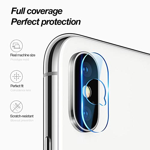 Kamera Objektiv Schutz Gehärtetes Glas Schutzlinse Fall Box für iPhone 6 6P 7 7P 8 8P X XR XS Max ()