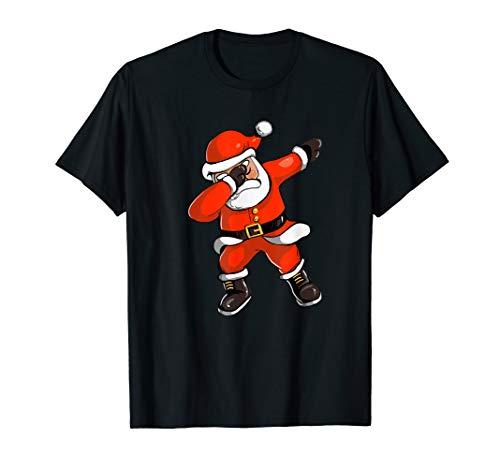 Xmas Spaß Dabbing Santa Fröhlichen Tanz - Urlaub Geschenk T-Shirt (Tanz Kostüm Urlaub)