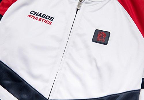 CHABOS IIVII Herren Jacken / Übergangsjacke Athletic Track Weiß