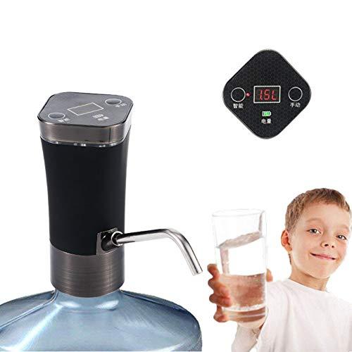 DIMOWANNGG Elektrischer Wasserspender Tragbarer Gallonen-Trinkflaschenschalter Intelligente drahtlose Wasserpumpe Wasseraufbereitungsgeräte, Intelligente Erkennung der Wasserqualität