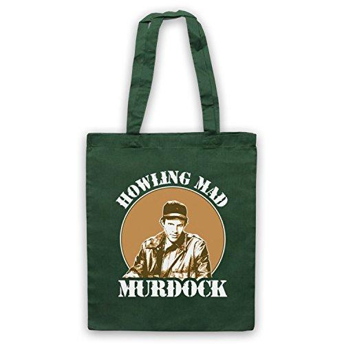 Ispirato Da Una Squadra Howlin Pazzo Murdock Borse Non Ufficiali Del Capo Verde Scuro
