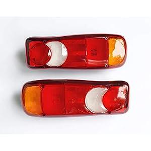 24/7Auto 2 x Rücklichter 12 V/24 V mit Pin-Anschluss für DAF LF XF Ducato Eurocargo