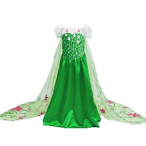 Imagen de disfraz de la princesa elsa anna de frozen vestido niña talla 130 6 7 años  alternativa