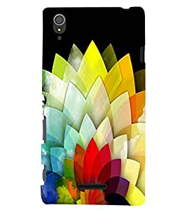 Sony Xperia T3 MULTICOLOR PRINTED BACK COVER FROM GADGET LOOKS