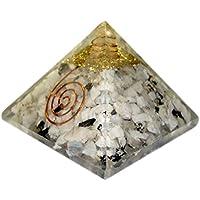 Rainbow Mondstein Orgonit Pyramid/Reiki Crytsal Pyramiden zur Heilung und Chakra Home Dekoration 65mm mit Tasche preisvergleich bei billige-tabletten.eu
