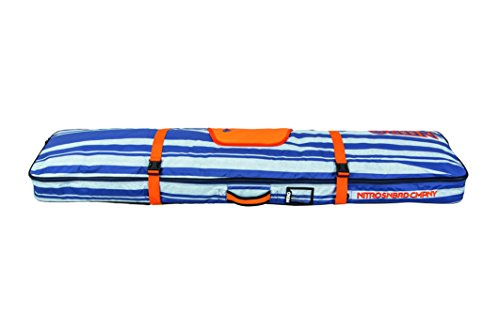 Nitro cargo, custodia per snowboard, multicolore (heather stripe), 161 x 32 x 10 cm