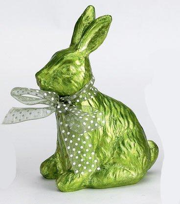 Die spiegelburg, dolce coniglietto pasquale - arredamento, decorazione, oggettistica - colore: verde - materiale: resina sintetica