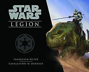 Asmodee Italia Star Wars: Legion Cavalcatori di Dewback expansión Juego de Mesa con espléndidas miniaturas, Color, 10238