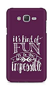 AMEZ its kind of fun to do the impossible Back Cover For Samsung Galaxy J7