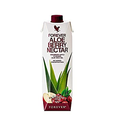 Forever Aloe Berry Nectar Cranberry-Apple Flavored Aloe Vera Gel - 1 Litre from Forever