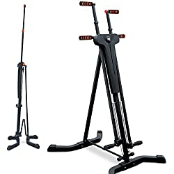 Sportstech innovative 2-in-1 Stepper & Vertical Climber. Fitness - climbing - climbing motions, foldable, multifunctional VC300 with anti-slip design & folding system - ideal for high-intensity interval training (HIIT) & whole body training