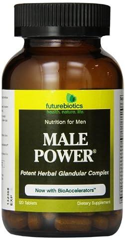 Futurebiotics Male Power, 120 Tabs