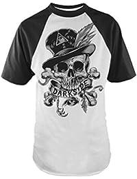 Darkside VOODOO SKULL Baseball Raglan T-shirt