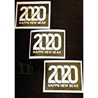 30 x Happy New Year 2020 Word Stencils for Glitter Tattoos/Airbrush Temporary Tattoos