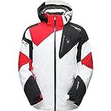 Spyder Leader Jacket Herren Skijacke weiß schwarz rot (XL)