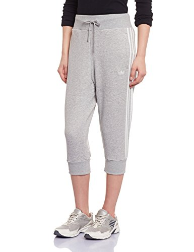 adidas Track Pantacourt Femme Medium Grey Medium Grey Heather