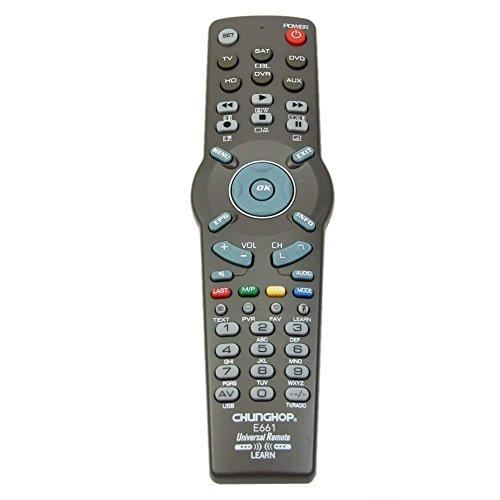 Universal-Fernbedienung für TV (TV, HD, SAT, DVD, DVR, AUX) 6in 1