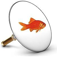 Bath Plopp Tappo per Vasca da Bagno Pesce Rosso, Tappo per Vasca da Bagno Scarico, Tappo 4030