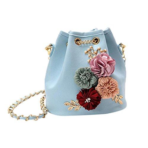 Donna borse spalla, nuova moda borsa spalla borse borsa borsa Messenger by Kangrunmy Cielo blu