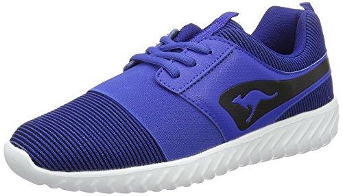 KangaROOS Ele, chaussons d'intérieur mixte adulte Blau (Electric Blue/Black)