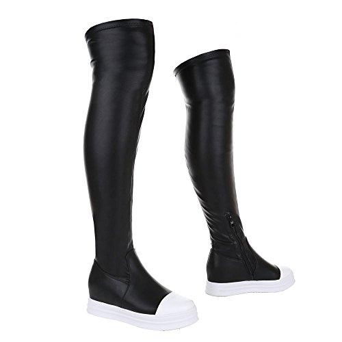 Ital-design - Bottes Classiques Femme Noir