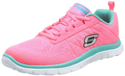 Skechers  Flex Appeal Sweet Spot, basket femme Rose - Pink (HPTQ)
