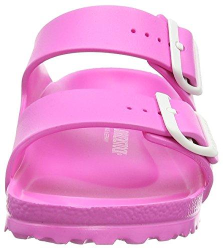 Birkenstock Arizona EVA Damen Pantoletten Pink (Neon Pink)