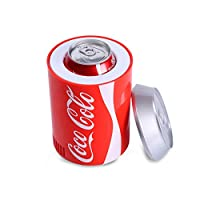 YYD Car refrigerator USB refrigerator Coke can mini refrigerator Hot and cold refrigerator Car refrigerator Coolable/heating,Red