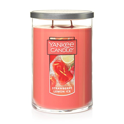 Yankee Candle Duftkerze im Glas, groß, Berry Trifle Large 2-Wick Tumbler Rose