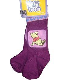 """Winnie l'ourson - Collants bébé fille Disney thème """"Assis"""" violet 12-18mois"""