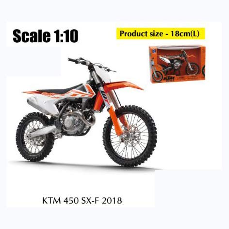New Ray Motorrad Miniatur, 57943, Mehrfarbig