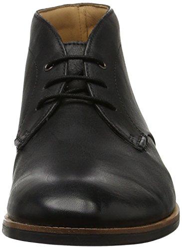 Clarks Broyd Mid, Bottes Classiques Homme Noir (Black Leather)