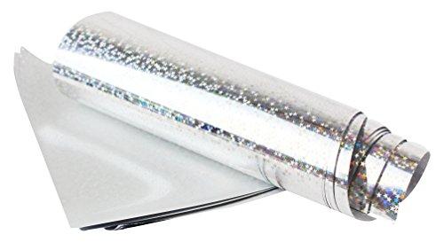 Hologramm-stoffe (Midas Touch Transfer Folie sheets-silver Hologramm, silber hologramm)