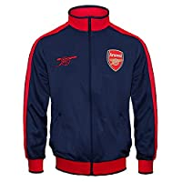 Arsenal FC Official Football Gift Boys Retro Track Top Jacket Navy 12-13 Yrs XLB