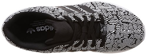 adidas Damen Zx Flux W Gymnastik Schwarz (Cblack/Cblack/Ftwwht)